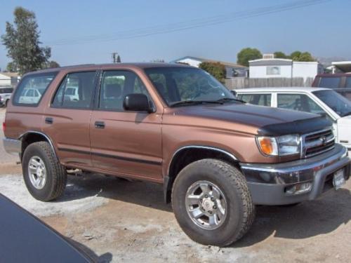 Photo Image Gallery & Touchup Paint: Toyota 4runner in Autumn Blaze Metallic  (4P5)  YEARS: 1999-1999