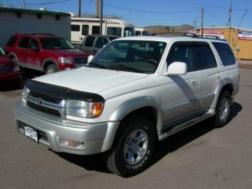 Photo Image Gallery & Touchup Paint: Toyota 4runner in Naturalwhite Millenniumsilver   (K72)  YEARS: 2001-2002