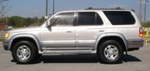 Photo Image Gallery & Touchup Paint: Toyota 4runner in Desertdune Silver   (K84)  YEARS: 1999-2000