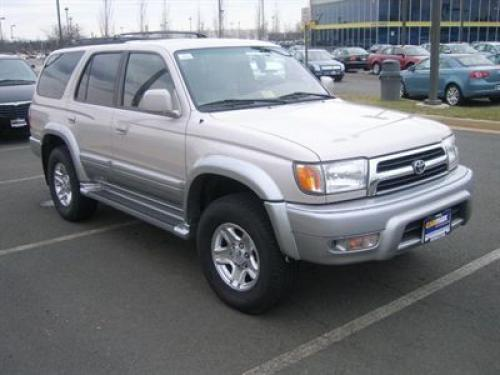Photo Image Gallery & Touchup Paint: Toyota 4runner in Desertdune Silver   (K84)  YEARS: 1999-2000
