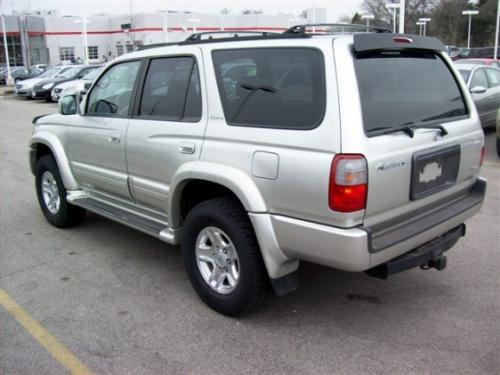 Photo Image Gallery & Touchup Paint: Toyota 4runner in Millenniumsilver Silver   (K85)  YEARS: 1999-2000