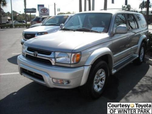 Photo Image Gallery & Touchup Paint: Toyota 4runner in Thundercloud Millenniumsilver   (KG0)  YEARS: 2001-2002