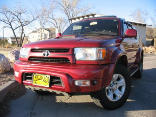 Photo Image Gallery & Touchup Paint: Toyota 4runner in Sunfirered Sunfirered   (KH6)  YEARS: 2002-2002