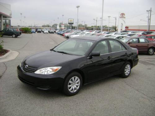 Photo Image Gallery & Touchup Paint: Toyota Camry in Black    (202)  YEARS: 2002-2006