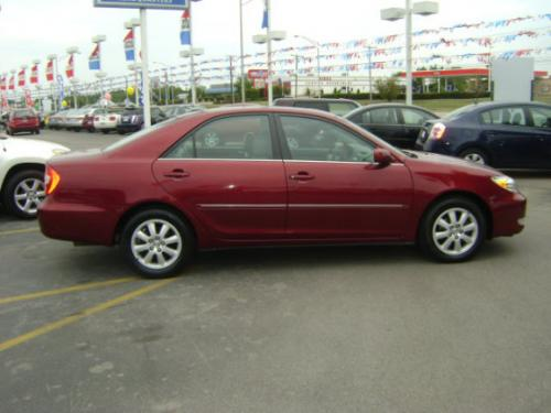 Photo Image Gallery & Touchup Paint: Toyota Camry in Salsa Red Pearl  (3Q3)  YEARS: 2002-2006