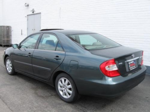 Photo Image Gallery & Touchup Paint: Toyota Camry in Aspen Green Pearl  (6S7)  YEARS: 2002-2006