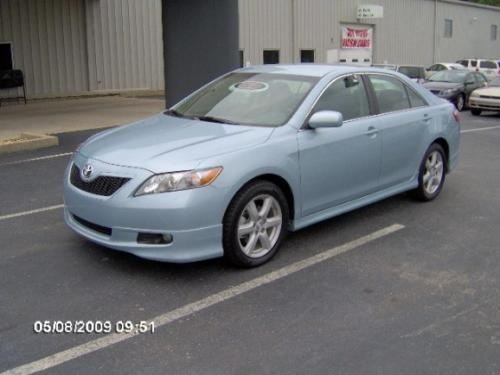 Photo Image Gallery & Touchup Paint: Toyota Camry in Sky Blue Pearl  (8S4)  YEARS: 2007-2009