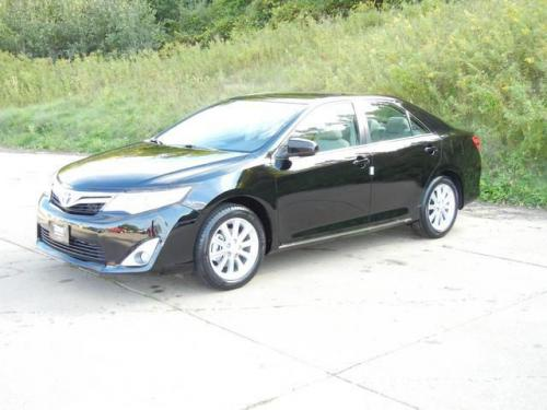 Photo Image Gallery & Touchup Paint: Toyota Camry in Attitude Black Metallic  (218)  YEARS: 2012-2017