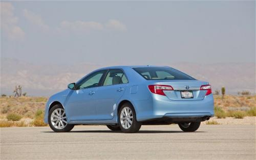 Photo Image Gallery & Touchup Paint: Toyota Camry in Clearwater Blue Metallic  (8W1)  YEARS: 2012-2014