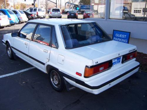 Photo Image Gallery & Touchup Paint: Toyota Camry in White    (038)  YEARS: 1983-1984