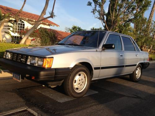 Photo Image Gallery & Touchup Paint: Toyota Camry in Light Blue Metallic  (894)  YEARS: 1984-1985