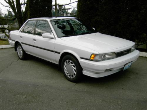 Photo Image Gallery & Touchup Paint: Toyota Camry in Super White   (040)  YEARS: 1987-1991