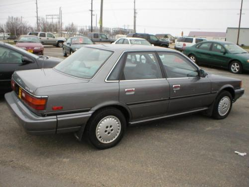 Photo Image Gallery & Touchup Paint: Toyota Camry in Gray Metallic   (167)  YEARS: 1987-1990