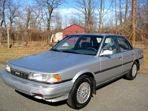 Photo Image Gallery & Touchup Paint: Toyota Camry in Silver Metallic   (173)  YEARS: 1989-1990