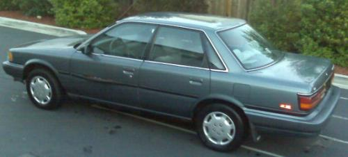 Photo Image Gallery & Touchup Paint: Toyota Camry in Gray Metallic   (185)  YEARS: 1991-1991