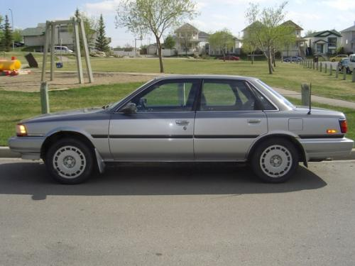 Photo Image Gallery & Touchup Paint: Toyota Camry in Gray Silver   (29H)  YEARS: 1989-1989