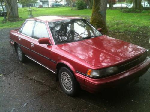 Photo Image Gallery & Touchup Paint: Toyota Camry in Medium Red Pearl  (3H4)  YEARS: 1988-1990