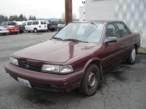 Photo Image Gallery & Touchup Paint: Toyota Camry in Dark Red Pearl  (3J5)  YEARS: 1990-1991