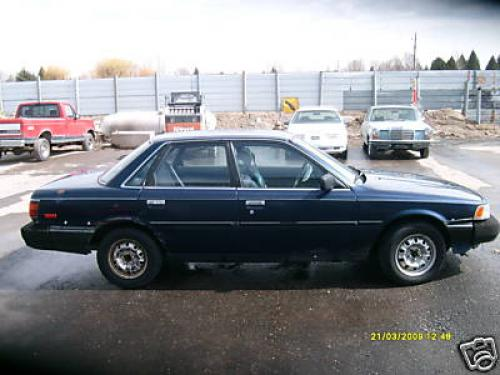 Photo Image Gallery & Touchup Paint: Toyota Camry in Dark Blue Pearl  (8E3)  YEARS: 1987-1990