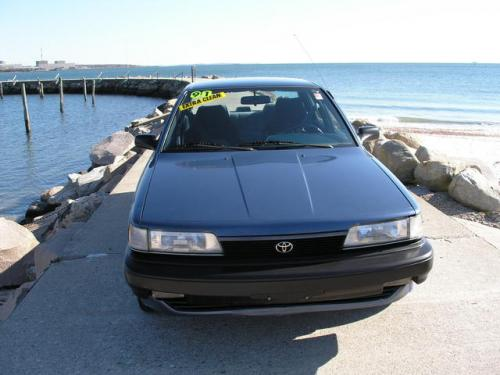 Photo Image Gallery & Touchup Paint: Toyota Camry in Blue Metallic   (8J3)  YEARS: 1991-1991