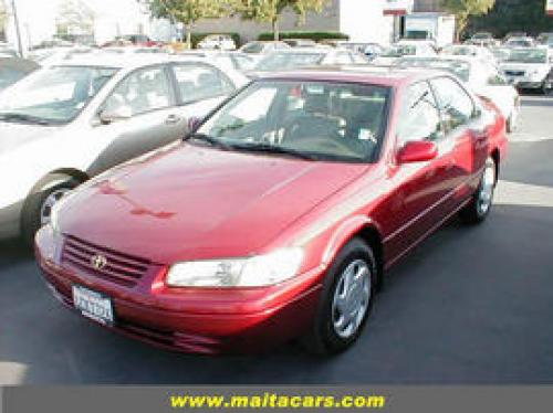 Photo Image Gallery & Touchup Paint: Toyota Camry in Sunfire Red Pearl  (3K4)  YEARS: 1997-1998