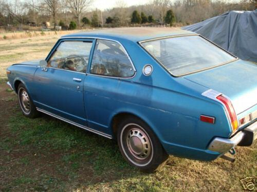 Photo Image Gallery & Touchup Paint: Toyota Carina in Turquoise Metallic   (707)  YEARS: 1972-1973