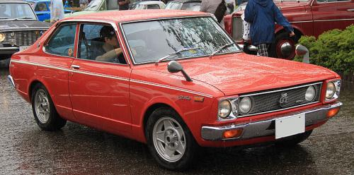 Photo Image Gallery: Toyota Carina in Red    (XX3)  YEARS: -
