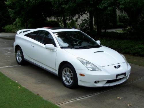 Photo Image Gallery & Touchup Paint: Toyota Celica in Super White   (040)  YEARS: 2000-2005