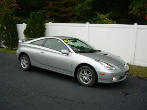 Photo Image Gallery & Touchup Paint: Toyota Celica in Liquid Silver Metallic  (1D0)  YEARS: 2000-2002