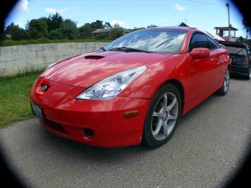 Photo Image Gallery & Touchup Paint: Toyota Celica in Absolutely Red   (3P0)  YEARS: 2000-2005