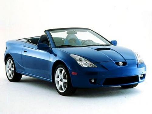 Photo Image Gallery & Touchup Paint: Toyota Celica in Spectra Blue Mica  (8M6)  YEARS: 2000-2005