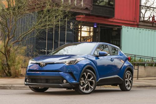 Photo Image Gallery & Touchup Paint: Toyota Chr in Blue Eclipse Metallic  (8X2)  YEARS: 2018-2018