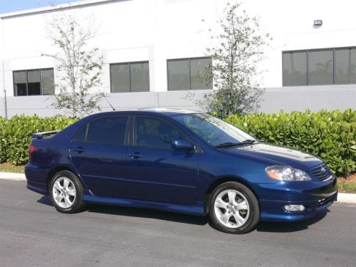 2005 Toyota Corolla Le >> Photo Image Gallery & Touchup Paint: Toyota Corolla in