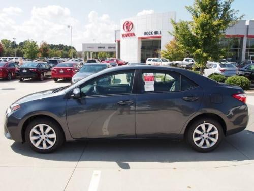 Photo Image Gallery & Touchup Paint: Toyota Corolla in Slate Metallic   (1F9)  YEARS: 2014-2017