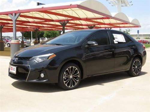 Photo Image Gallery & Touchup Paint: Toyota Corolla in Black Sand Pearl  (209)  YEARS: 2014-2017