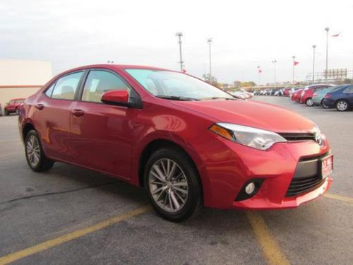 Photo Image Gallery & Touchup Paint: Toyota Corolla in Barcelona Red Metallic  (3R3)  YEARS: 2014-2017