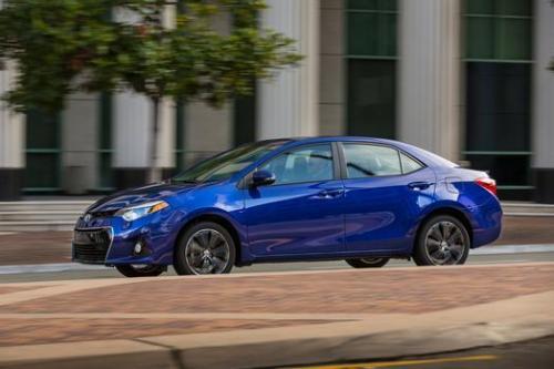 Photo Image Gallery & Touchup Paint: Toyota Corolla in Blue Crush Metallic  (8W7)  YEARS: 2014-2017