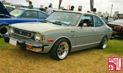 Photo Image Gallery & Touchup Paint: Toyota Corolla in Moon Grey   (T1620)  YEARS: 1971-1971