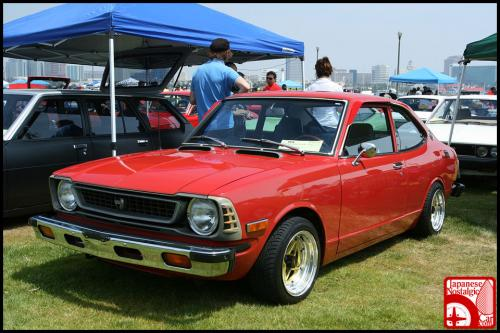 Photo Image Gallery: Toyota Corolla in Red    (XX2)  YEARS: -