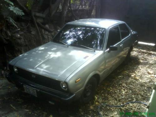 Photo Image Gallery & Touchup Paint: Toyota Corolla in Silver Metallic   (128)  YEARS: 1975-1979
