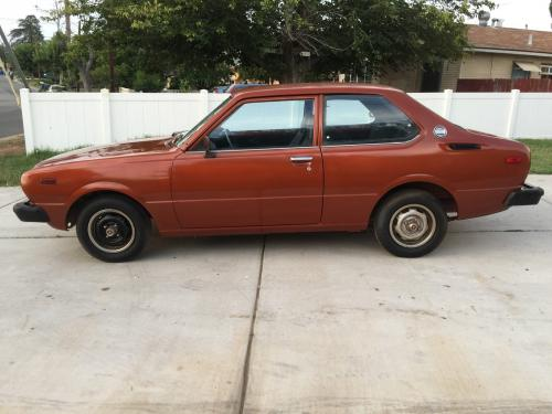 Photo Image Gallery & Touchup Paint: Toyota Corolla in Copper Metallic   (474)  YEARS: 1977-1979