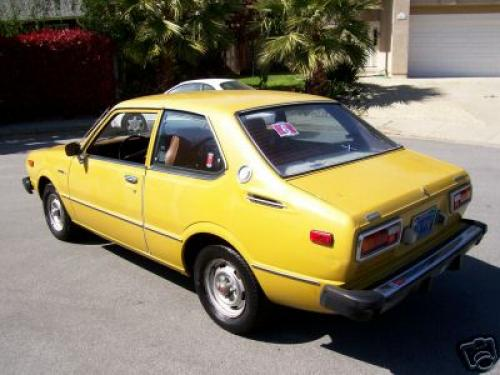 Photo Image Gallery & Touchup Paint: Toyota Corolla in Yellow    (539)  YEARS: 1975-1977