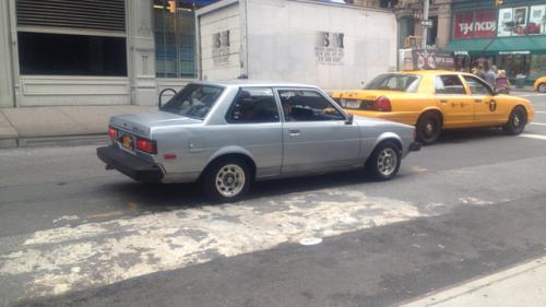 Photo Image Gallery & Touchup Paint: Toyota Corolla in Silver Metallic   (137)  YEARS: 1980-1982