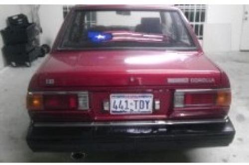 Photo Image Gallery & Touchup Paint: Toyota Corolla in Red Metallic   (372)  YEARS: 1980-1981