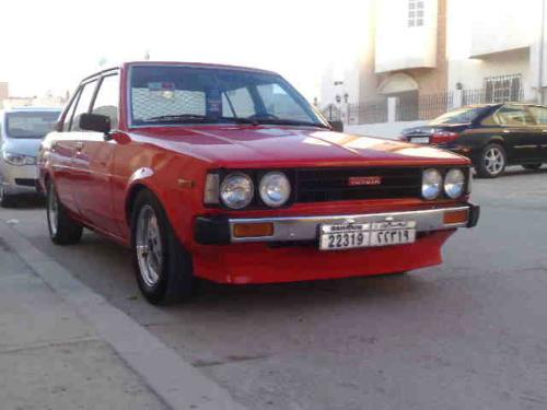 Photo Image Gallery & Touchup Paint: Toyota Corolla in Red    (380)  YEARS: 1980-1980