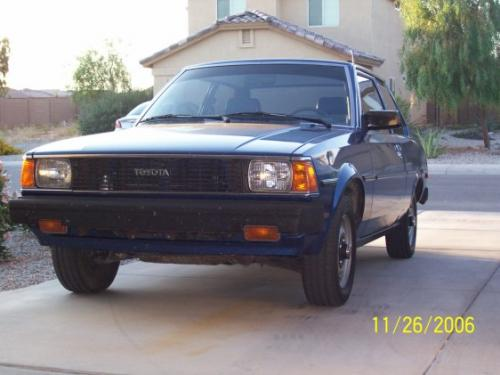 Photo Image Gallery & Touchup Paint: Toyota Corolla in Dark Blue Metallic  (884)  YEARS: 1983-1983