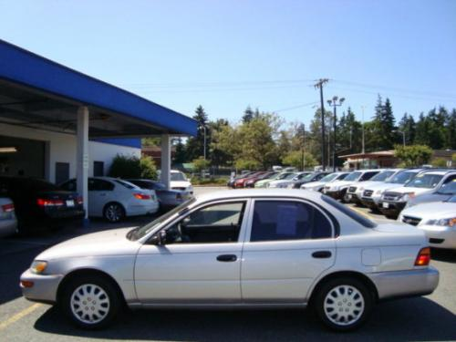 Photo Image Gallery Touchup Paint Toyota Corolla In Sunset Silver