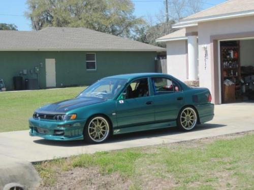 Photo Image Gallery & Touchup Paint: Toyota Corolla in Bright Ivy Pearl  (6P5)  YEARS: 1997-1997