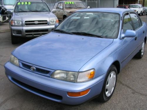 Photo Image Gallery & Touchup Paint: Toyota Corolla in Orchid Blue Pearl  (8K1)  YEARS: 1995-1996