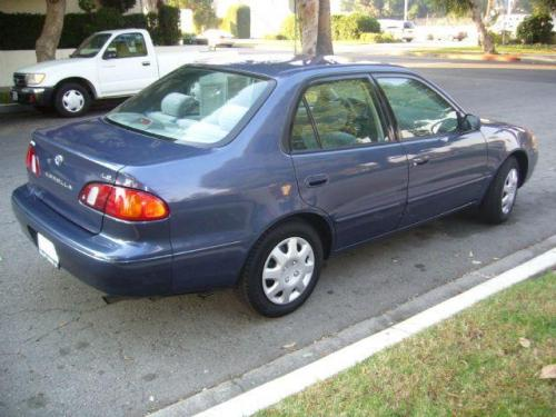 Photo Image Gallery  U0026 Touchup Paint  Toyota Corolla In Twilight Blue Pearl  8m8